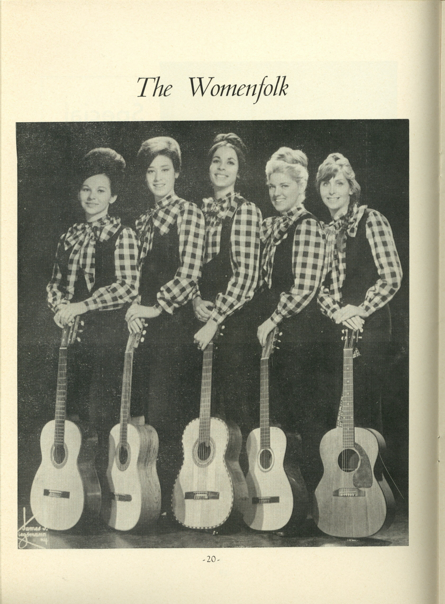 The Womenfolk 1963-66