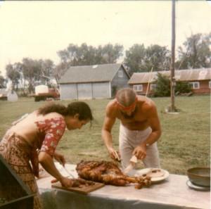 a party on the farm 1981