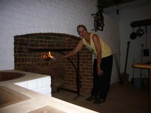 Monticello hearth test 6-2009