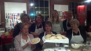 An evening's baking class; Pita and Naan at the Frenchman's Corner Kitchen