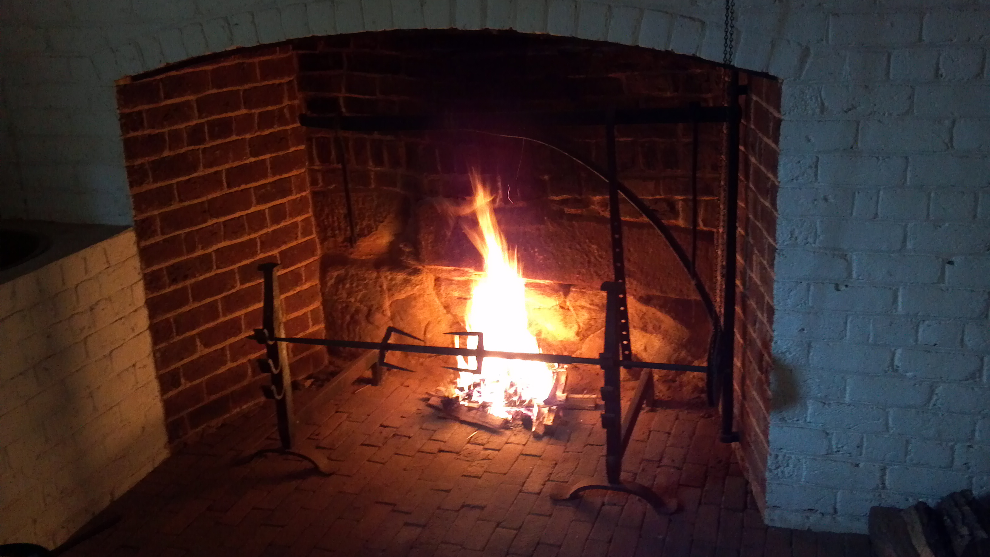 Monticello Hearth Cooking at the Heritage Harvest Festival 2016